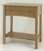 Quartered Oak Arts and Crafts Washstand